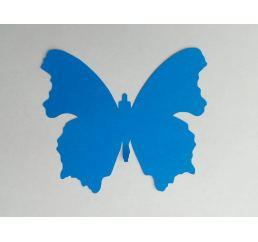Бабочка 12см СИНЯЯ