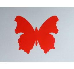 Бабочка 12см КРАСНАЯ
