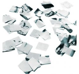 Конфетти квадрат Серебро 100гр