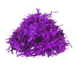 Конфетти мишура Фиолетовая 100гр