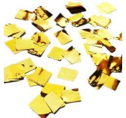 Конфетти квадрат Золото 100гр
