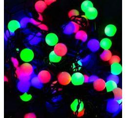 Светодиодная LED гирлянда 40 led 6м цветная Ø16мм