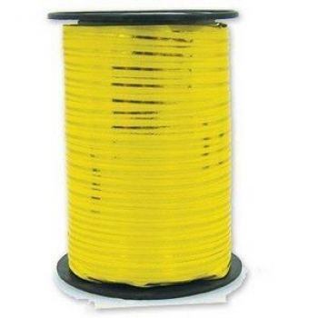 Лента Жёлтая с золотой полосой 250ярд