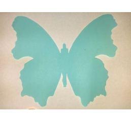 Бабочка 12см НЕЖНО-ГОЛУБАЯ