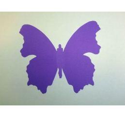 Бабочка 12см ФИОЛЕТОВАЯ