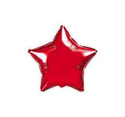 Шар Звезда 22см Красная ФМ