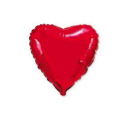 Шар Сердце 22см Красное ФМ