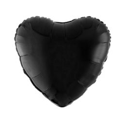 18'' Сердце Чёрное К