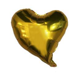 Шар Сердце 45см МОДЕРН Золото К