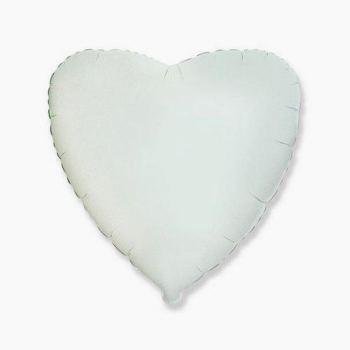 18'' Сердце Белое К