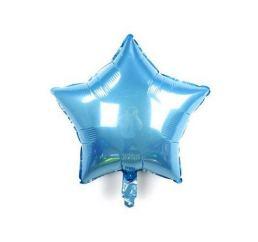 Шар Звезда 22см Голубая К