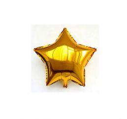 Шарик Звезда 4дюйма 12см Золотая К