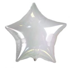 Шар Звезда 45см прозрачная К