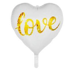 Шар сердце 45см LOVE