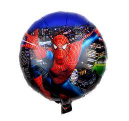 Шар Человек - паук в ночном городе 45см К