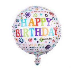 Шар Happy Birthday Celebrate 45см К
