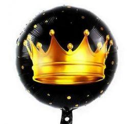 Шар Корона на чёрном К
