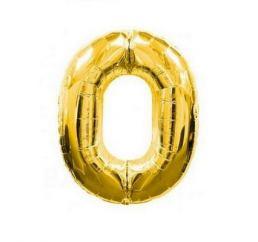 Цифра 0 Золото К 70см