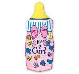Бутылочка розовая ФМ