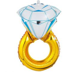 Шар Кольцо с бриллиантом К