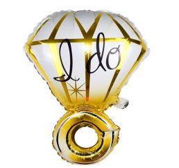Шар Золотое Кольцо I DO 65х47см К