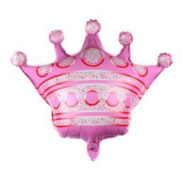 Шар Корона розовая К