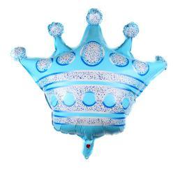 Шар Корона голубая К