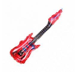 Шар Гитара красная 85х30м К