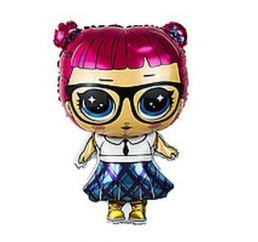 Шар фигура Кукла LOL Отличница 64см К