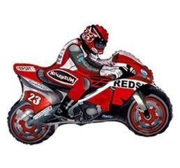 Минифигура Мотоцикл Красный