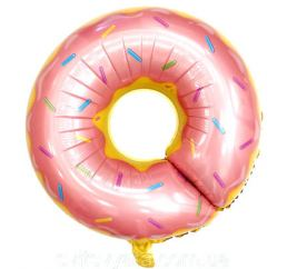 Шар Пончик Розовый К