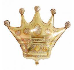 Шар Корона золото 75 см х 70см К