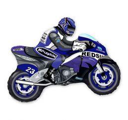 Минифигура Мотоцикл Синий