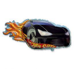Шар HotCars чёрный ФМ