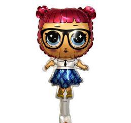 Шарик на держатель Кукла LOL Отличница 42см К