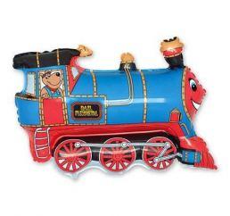 Минифигура Поезд Синий