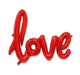Шар LOVE Красный 70х100 К
