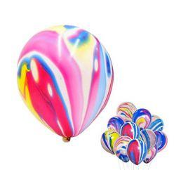 Мраморный Разноцветный шар К