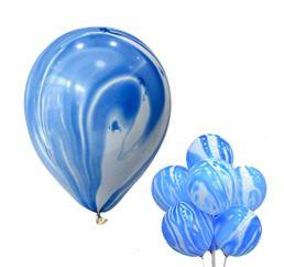 Мраморный Синий шар К