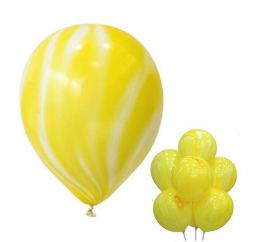 Мраморный Желтый шар К