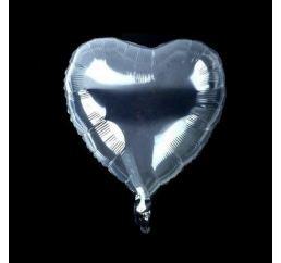 Шар-СЕРДЦЕ Bubbles (баблс) 45см