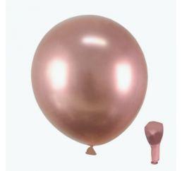 Хромовые Шары Розовое Золото 30см Китай