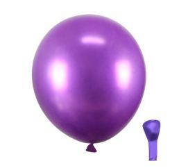Хромовые Фиолетовые Шары 30см Китай