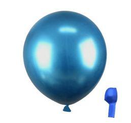 Хромовые Синие Шары 30см PRC