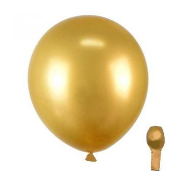 Хромовый золотой шарик 30см 1шт PRC