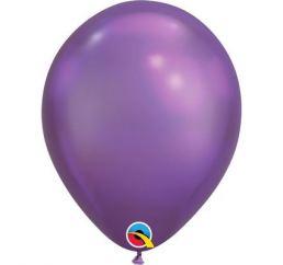 Хромовый шар 30см Фиолетовый Purple Q