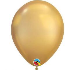 Хромовый шар 30см Золото Gold Q