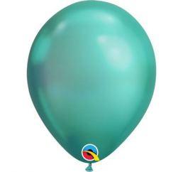 Хромовый шар 30см Зелёный Green Q