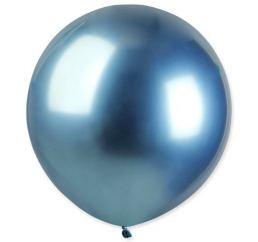 Шары Хром 45см Синие
