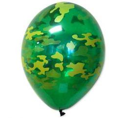 Камуфляжные шары 30см МИЛИТАРИ